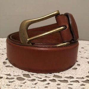 Vintage Banana Republic Leather Belt